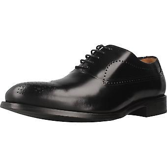 Angel Infantes Zapatos De Vestir 11092a Color Negro
