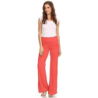 Shore Trendz Mujeres's Pantalones De patas Anchas Boho Palazzo