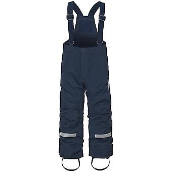 Didriksons Idre 3 Kids Junior Ski Pants Salopettes | Navy