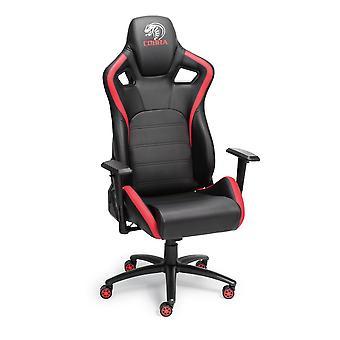 Nitho Cobra GM-1 Extra Height Gaming Chair Black/Red (GCS-EGM1-KC)