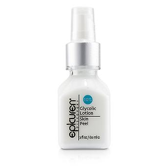 Epicuren Glycolic Lotion Skin Peel 10% - For Dry Normal & Combination Skin Types - 60ml/2oz