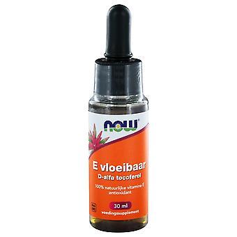 E-Vloeibaar 13.650 IE D-alfa Tocoferol (30 ml) - JETZT Lebensmittel