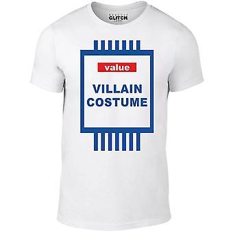 Værdi-skurk-kostume t-shirt
