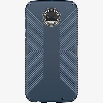 Speck Presidio Grip Case for Moto Z2 Play - Marine Blue/Twilight Blue