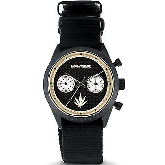Zadig & Voltaire ZVM125 watch - watch Bracelet black date chronograph woman