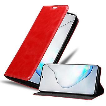 Cadorabo Hülle für Samsung Galaxy NOTE 10 case cover - Magnetverschluss