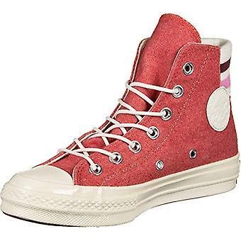 Converse Chuck 70 HI Unisex-Adults Fashion-Sneakers 163367C_6.5 - Sedona RED/...