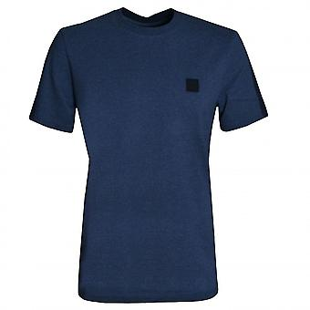 Hugo Boss Casual Hugo Boss Men's Dark Blue Tevided T-Shirt