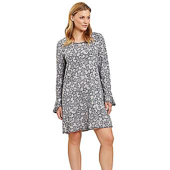 Rösch 1204090-16579 Női's Smart Casual Grey Stars Nightdress