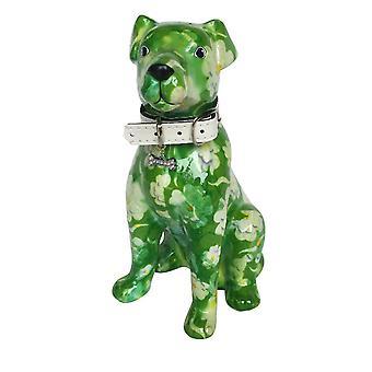 Piggy Bank perro Mylo Green