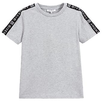 Givenchy Kids Tape Logo T-Shirt