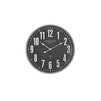 Light & Living Clock 67x6cm Rogers Brown