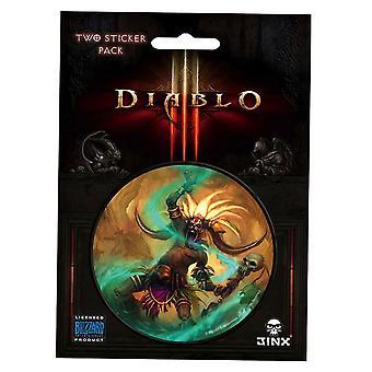 Autocollant de classe de docteur de sorcière de Diablo III