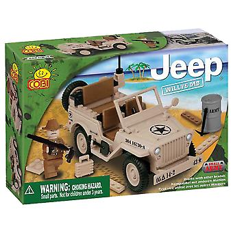 Small Army 100 Piece Willys Desert MB Jeep Construction Set