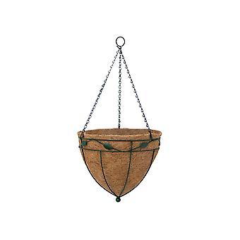 Garden Pride Hanging Basket Cone - Leaf Design