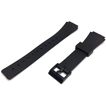Watch strap made by w&cp to fit casio watch strap 18mm 248p3, w90, w91, mrw10, mw32 ,mw35