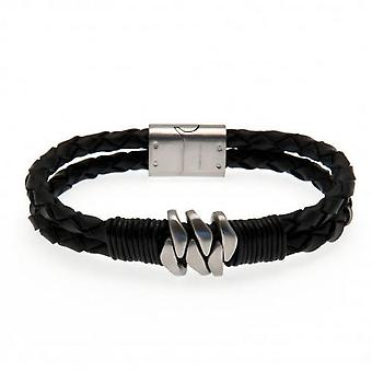 Tottenham Hotspur FC Leather Bracelet