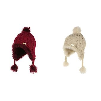 Regatta Girls Cassiana Chullo Fur Lined Hat