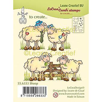 Leane Creatief Sheep Clear Stamps