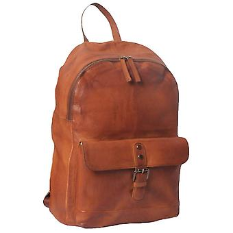 Ashwood nahka Spitafields gloving korkea VEG zip Around Rucksack-Tan