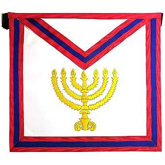 Masonic scottish rite masonic apron - aasr - 23rd degree