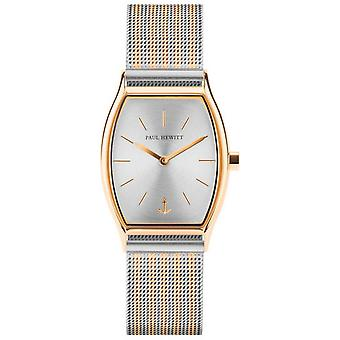 Paul Hewitt Watch PH-T-G-SS-44S - Bicolor Steel Watch Dor Silver Woman