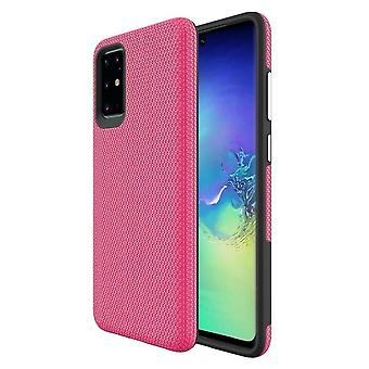 Para Samsung Galaxy S20+ Plus 4G 5G Caso armadura cubierta fuerte rosa