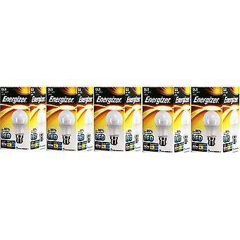5 x Energizer LED GLS luz bombilla BC/B22 bayoneta tapa 9.2w = 60w 820lm luz del día [clase energética A +]