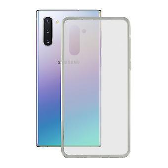 Cas de téléphone mobile avec TPU Edge Samsung Galaxy A81 KSIX Flex Transparent