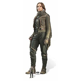 Jyn Erso Rogue One: A Star Wars Story Lifesize Cardboard Cutout / Standee