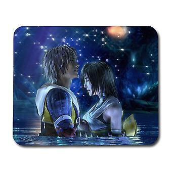 Final Fantasy Tidus & Yuna Mouse Pad