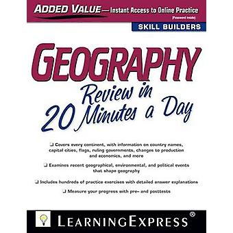 Geography Review in 20 Minutes a Day by LearningExpress LLC - 9781576