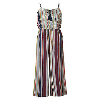 Funky Buddha Girls' Playsuit/Jumpsuit In Stripe Pattern