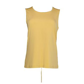 NorthStyle Women's Top Lightweight Tank Gold Yellow