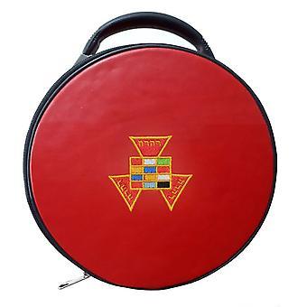 Masonic tidligere ypperstepræst php hat / cap sag rød