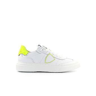 PHILIPPE MODEL TEMPLE NEON WHITE YELLOW SNEAKER