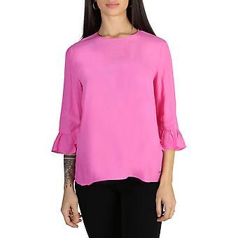 Woman 3/4 round neckline shirt th42999