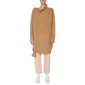Marni Dvmd0096q0fh573mlw58 Women's Brown Wool Sweater