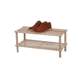 Joy Træ sko rack 63x26.5x29.5 cm