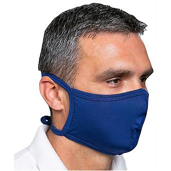 Offensichtlich Krawatte Gesichtsmaske - hellblau