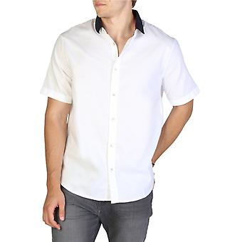 Hombre algodón camiseta corta camiseta top ae34327