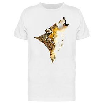 Howling Wolf Tee Miehet&s -Kuva Shutterstock