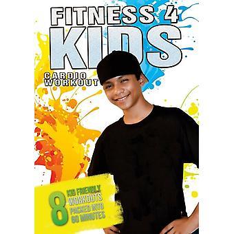 Fitness 4 Kids Cardio Workout [DVD] USA import