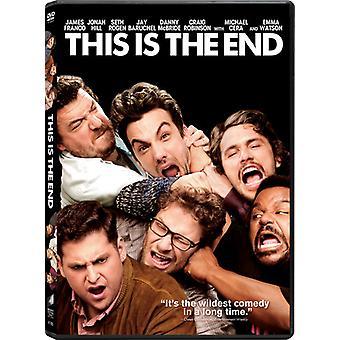 Il s'agit de l'importation des USA de la fin [DVD]