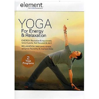 Element - Yoga for Energy & Relaxation [DVD] USA import