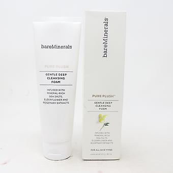 Bareminerals Pure Plush Gentle Deep Cleansing Foam  4.2oz/120g New With Box