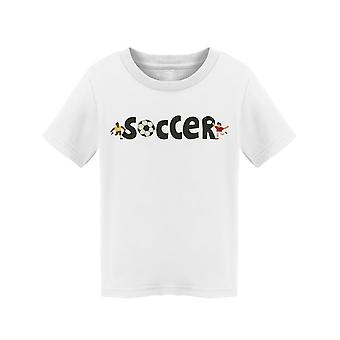 Soccer Text Tee Toddler's -Image by Shutterstock