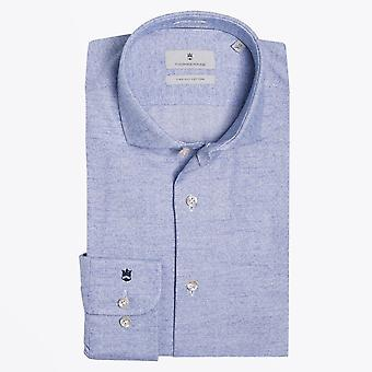 Thomas Maine  - Cotton Woven Shirt - Light Blue