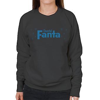 Fanta Flavorful 1960s Art Women's Sweatshirt