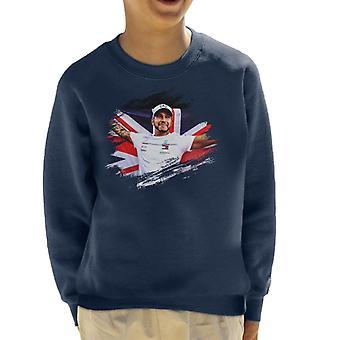 Motorsport Images Lewis Hamilton Autodromo Kid's Sweatshirt